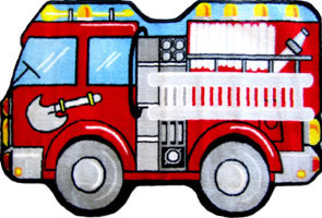Fire Engine 31'' x 47''