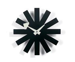 Vitra Modern Asterisk Clock by George Nelson