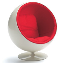 Vitra Miniatures Ball Chair by Eero Aarnio