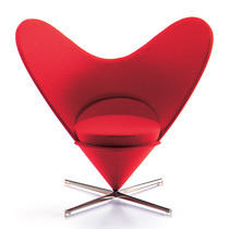 Vitra Miniatures Heart Shaped Cone Chair